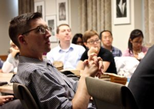 Pathobiology of Disease Seminars are held every Thursday throughout the academic year. Photo by: Kathleen Ferraro/UChicago ITM.