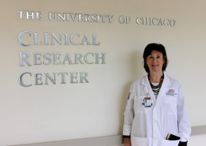 Kathleen Mansell, new manager of the ITM's Clinical Research Center. (Kathleen Ferraro/UChicago ITM)