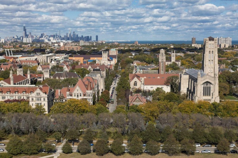 University of Chicago Architecture-m